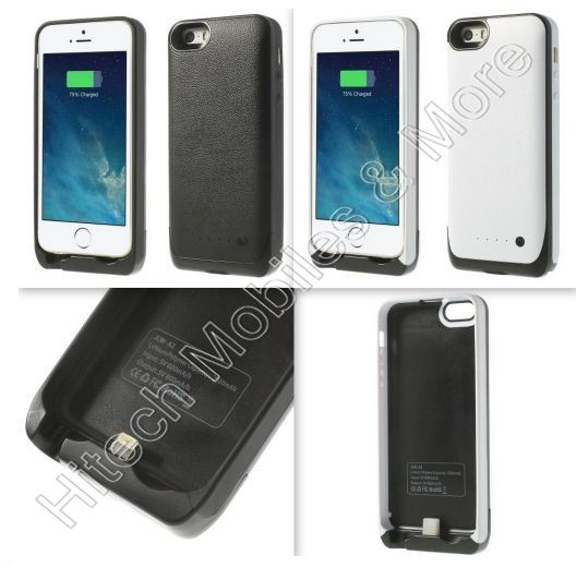 2500mAh External Battery Case for iPhone 5 5S