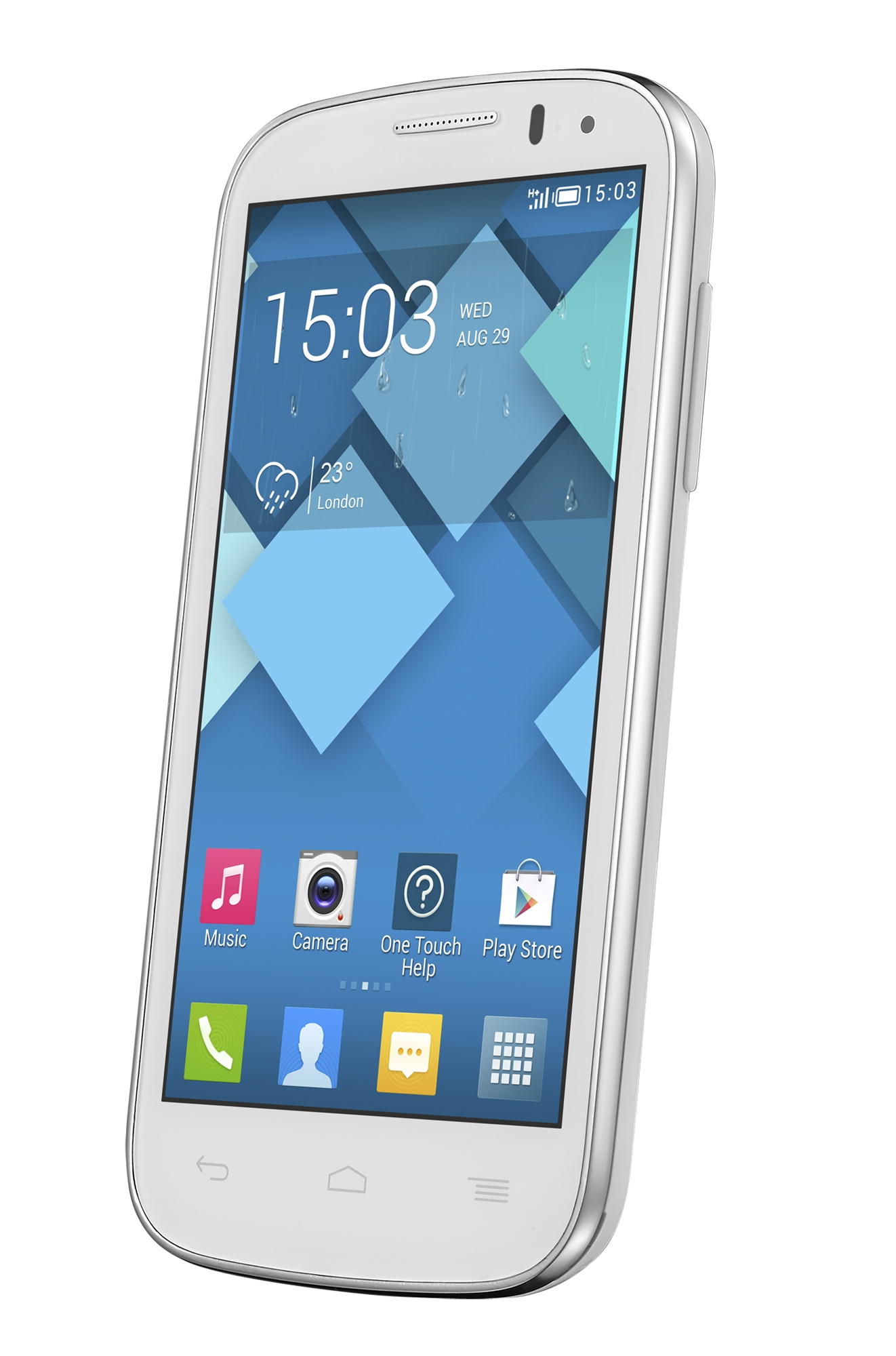 Alcatel C5 One touch Pop OT-5036X White