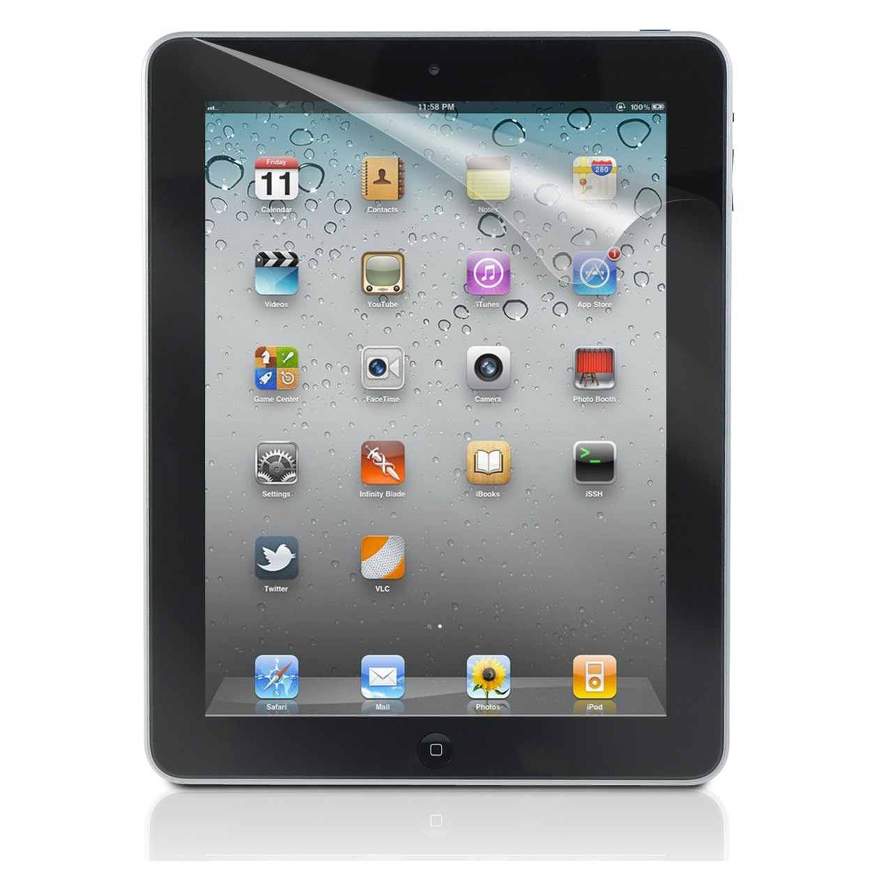 Clear Screen Protector For Apple IPAD 2/3/4