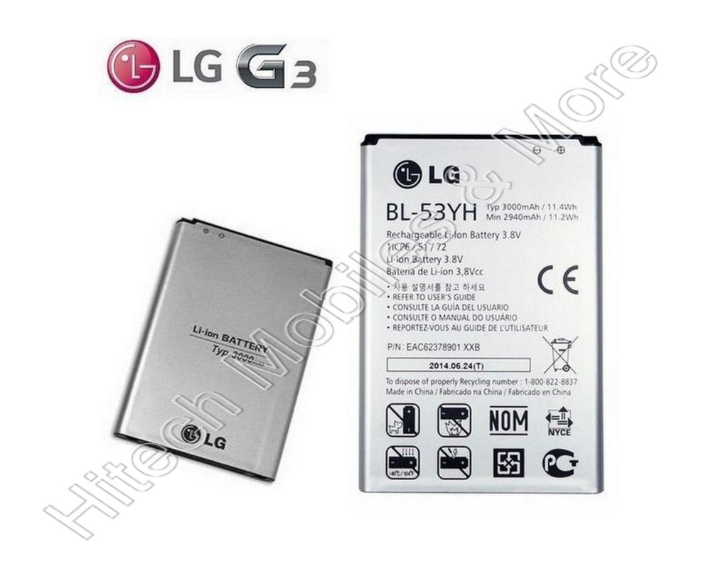 BL-53YH Genuine Battery For LG G3 D855