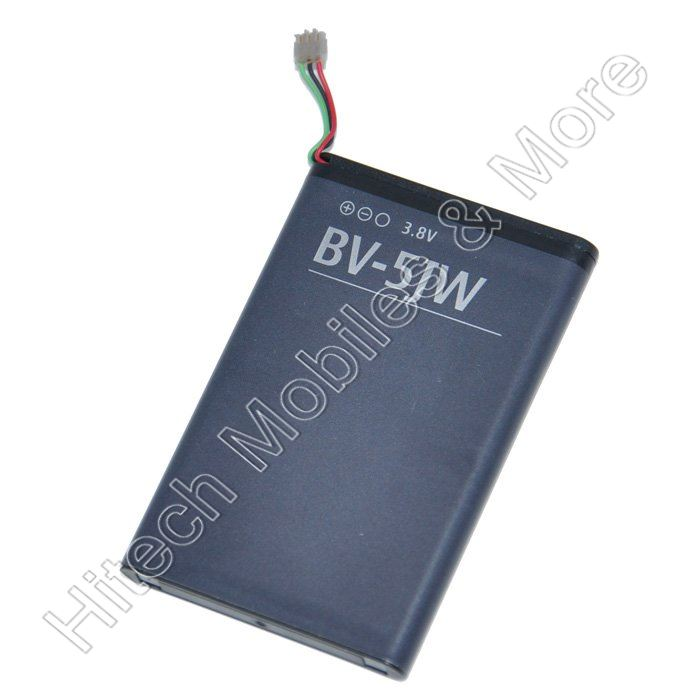 BV-5JW Battery for  Nokia Lumia 800 Nokia N9