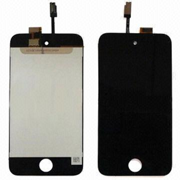 Black LCD + Touch Digitizer for iPOD 4th Generation