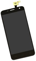 Black LCD + Touch for Alcatel OT-6012