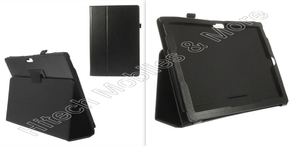 Black Leather Case for Microsoft Surface Pro 3