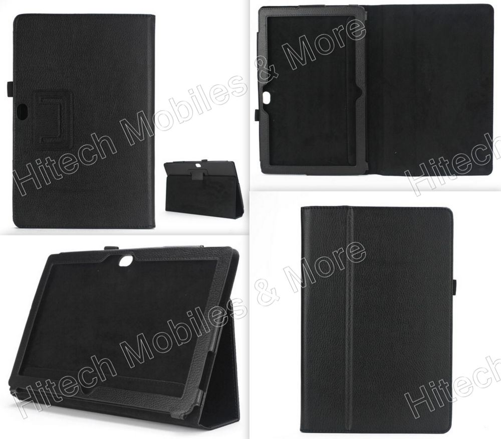 Black Leather Case for Microsoft Surface RT