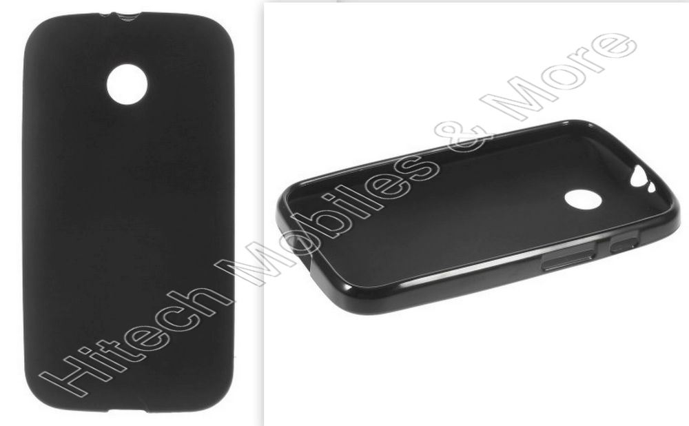 Black Matte TPU Case for Motorola Moto E XT1022