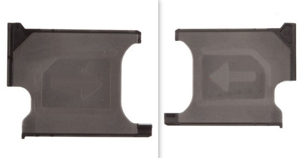 Black SIM Card Tray  for Sony Xperia Z1 C6903