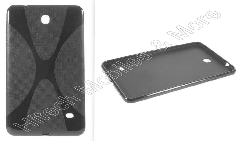 Black TPU Case for Samsung T330 Galaxy Tab 4 8.0