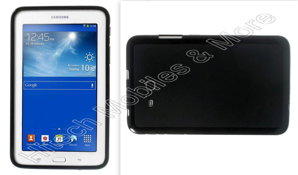 Black TPU Case for Samsung Tab 3 7.0 Lite T110