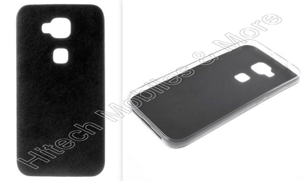 Black TPU Gel Case for Huawei G8