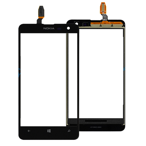 Black Touch Digitizer For Nokia Lumia 625