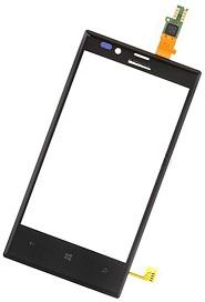 Black Touch Digitizer For Nokia Lumia 720