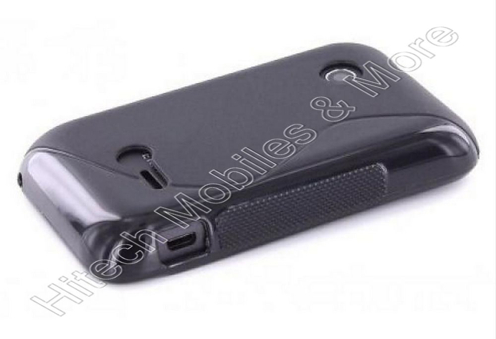 Black Tpu Case for Sony Xperia tipo ST21i
