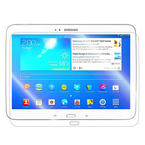 Clear Screen Protector For Samsung P5200 P5210 Galaxy Tab 3 10.1