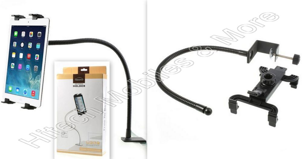 Gooseneck Table Clip Multi-Direction Holder for Tablet