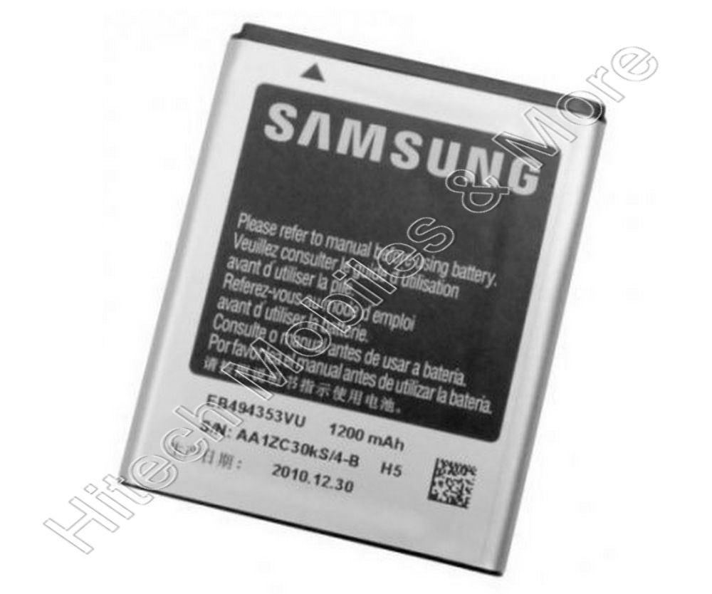 Replacement EB494353VU Battery For Samsung S5570 S5360T