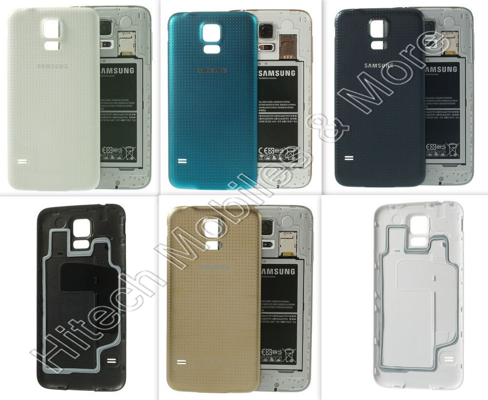 Back Battery Door Cover for Samsung G900i Galaxy S5