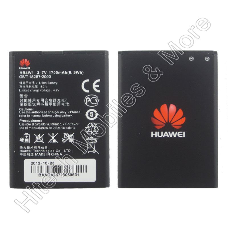 Genuine HB4W1 Battery Huawei C8813 U8951d Y210c
