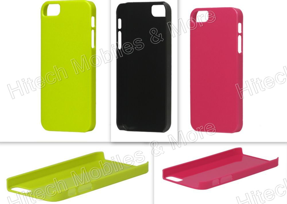 Glossy Slim Hard Plastic Case for iPhone 5 5s