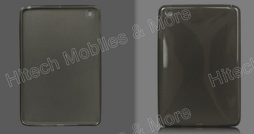 Glossy TPU Gel Case Cover for iPad Mini