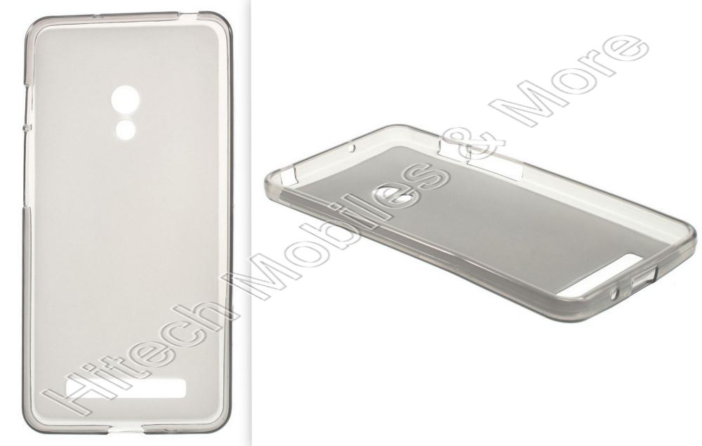 Grey TPU Jelly Case for Asus Zenfone 5