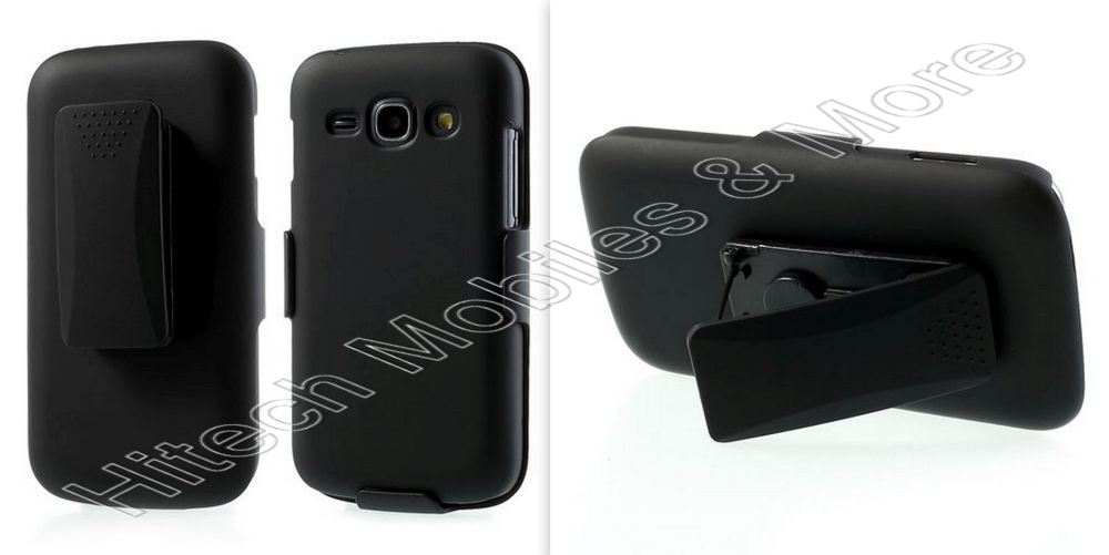Hard Plastic Belt Clip + Case for Samsung S7275