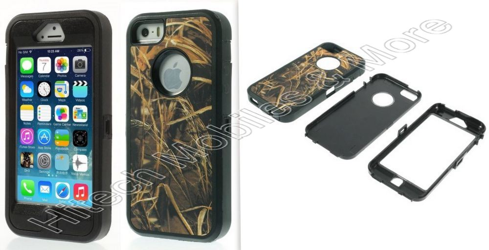 Heavy Duty Case For Apple iPhone 5 5S SE