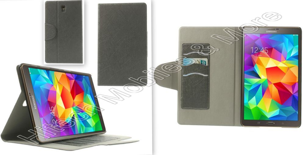 PU Leather Case for Samsung T700 T705 Galaxy Tab S