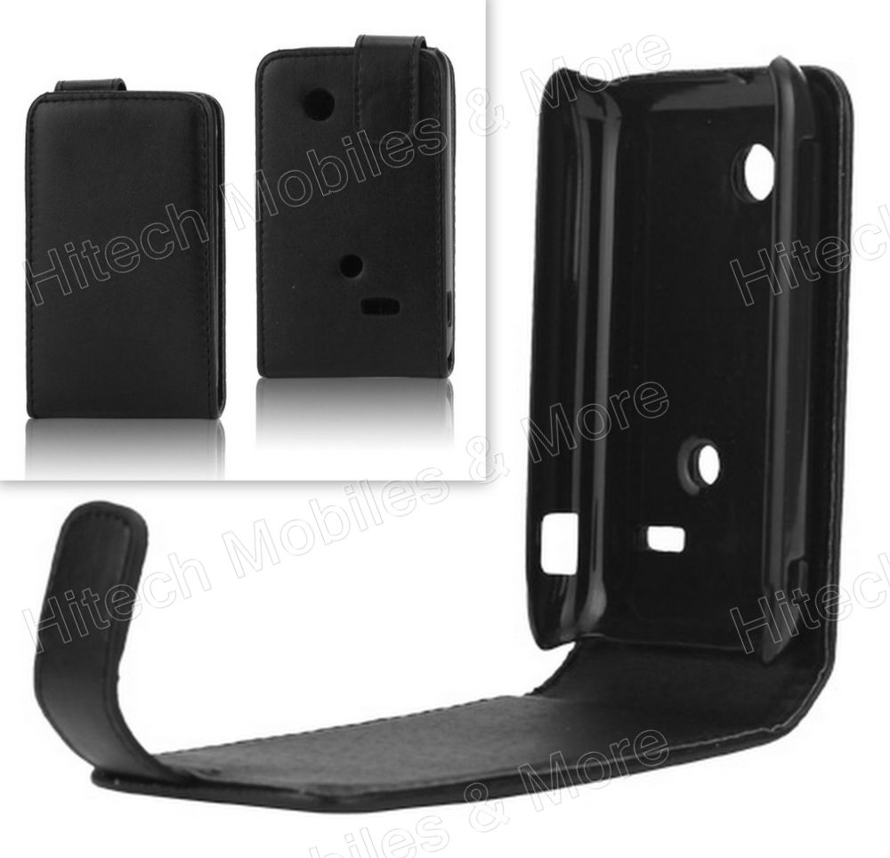 Leather Flip Case Cover for Sony Xperia tipo ST21i