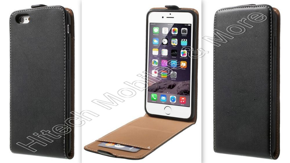 Leather Flip Case with Card Slot iPhone 6 Plus 6S Plus