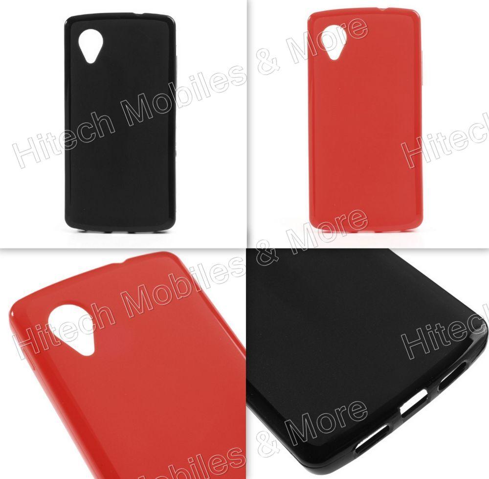 Matte Back TPU Case for LG Nexus 5
