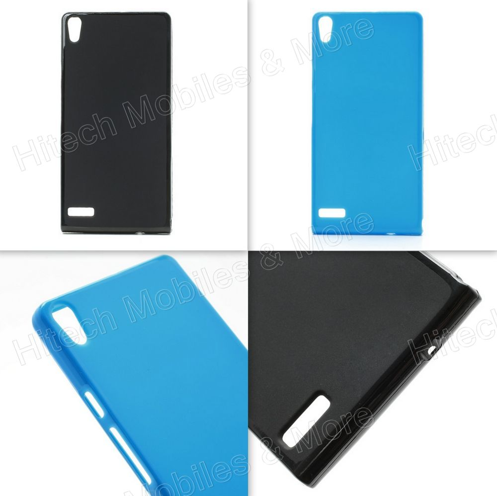 Matte Surface TPU Case for Huawei Ascend P6