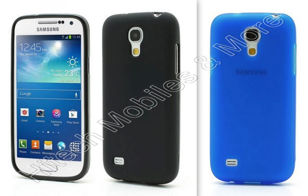 Matte TPU Case For Samsung I9195 Galaxy S4 mini