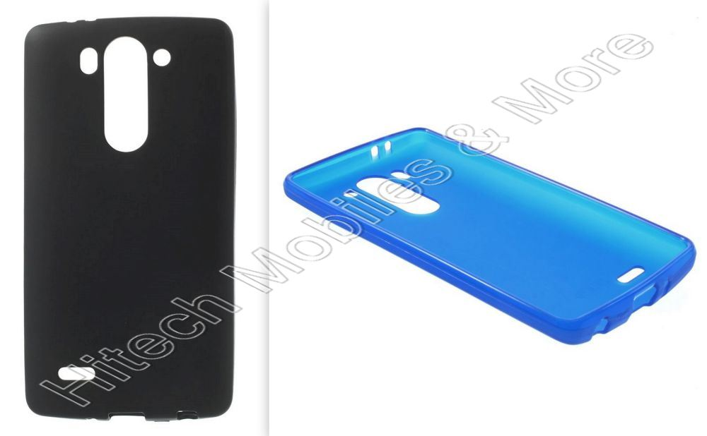 Matte TPU Gel Skin Cover for LG G3 S D722 D725