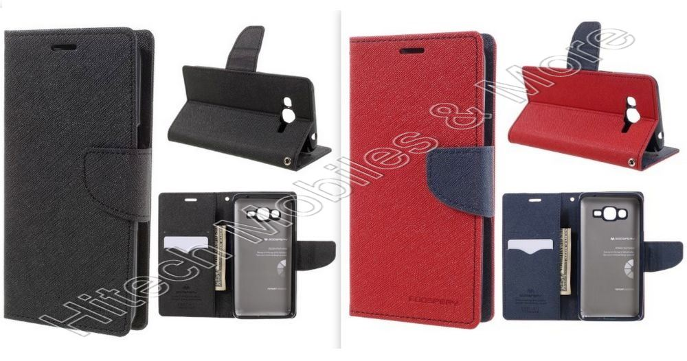 the best attitude 2cca9 5b81b Mercury Leather Case for Samsung SM-G532M Galaxy J2 Prime