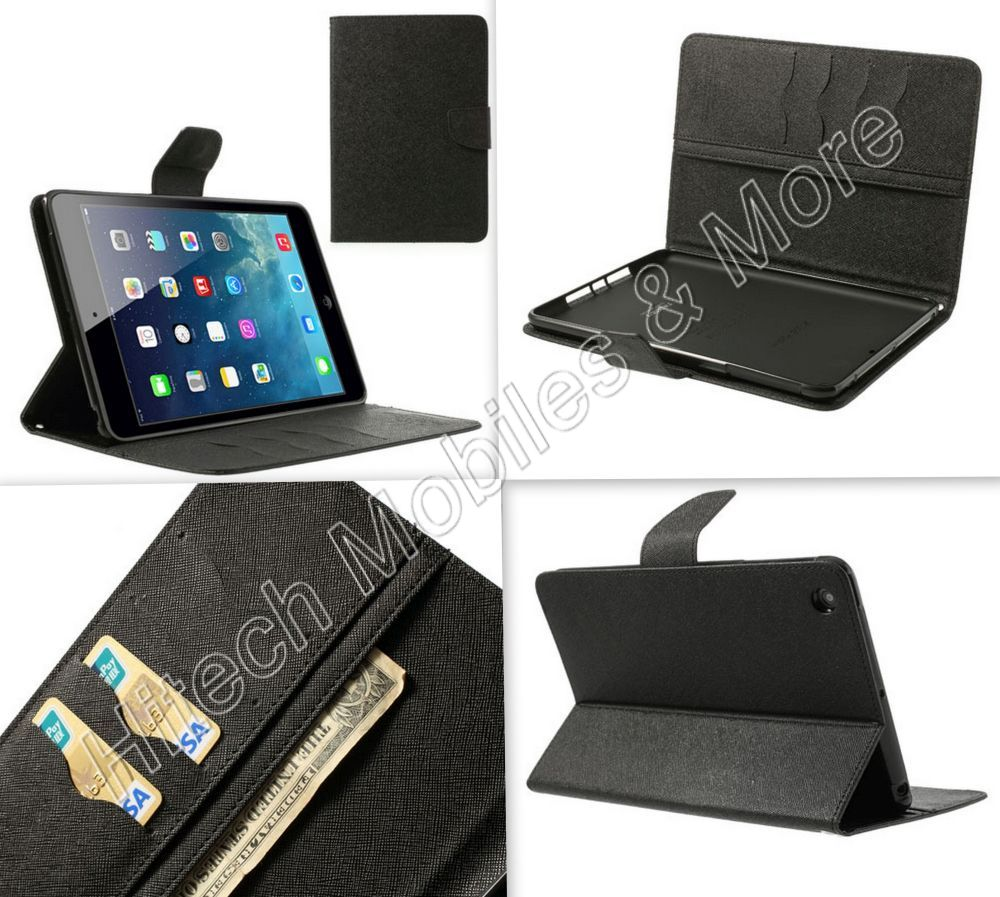 Mercury Wallet Stand Case for Apple iPad mini