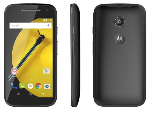motorola xt1521 moto e2 dual sim black. Black Bedroom Furniture Sets. Home Design Ideas