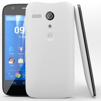 Motorola XT1033 Moto G 8GB Dual Sim White