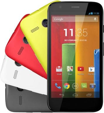 Motorola XT1039 Moto G LTE 8GB Yellow