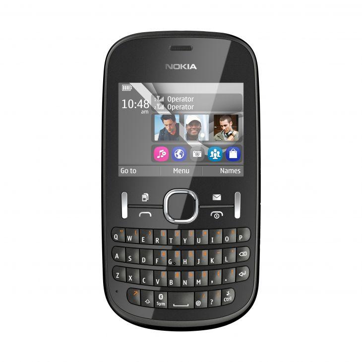 Nokia Asha 200 Grey