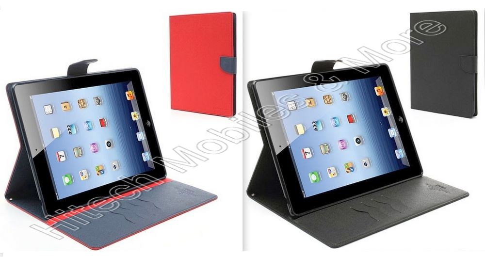 PU Leather Stand Case for iPad 2nd 3rd 4th