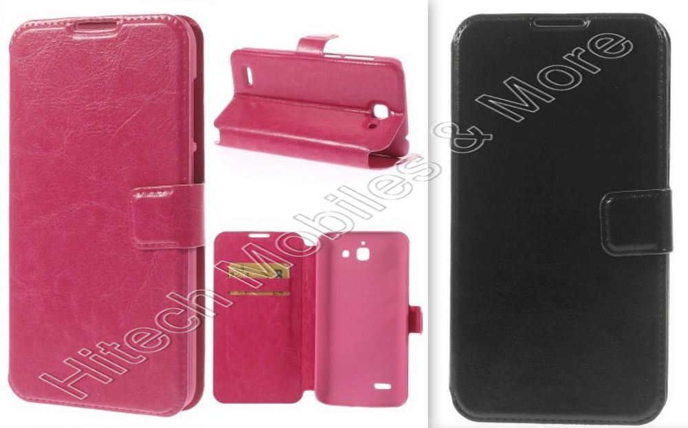 PU Leather Wallet Case for Huawei Ascend G730