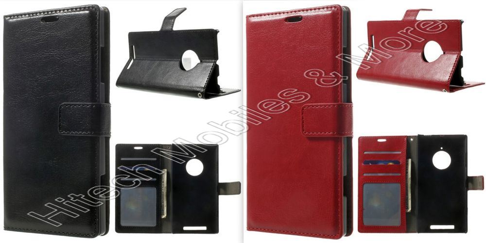 PU Leather Wallet Case for Nokia Lumia 830