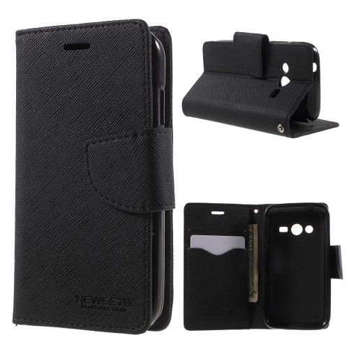 PU Leather Wallet Case for Samsung Galaxy Ace 4 G313ML