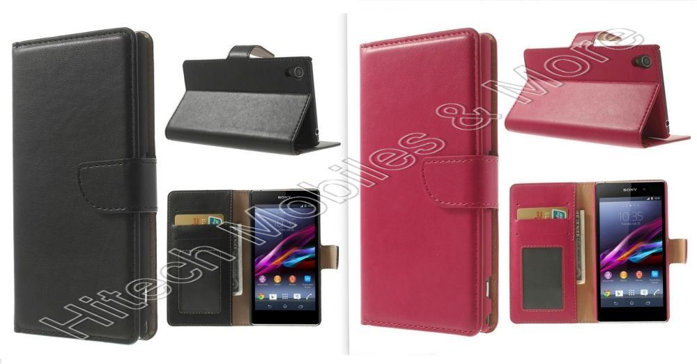 PU Leather Wallet Case for Sony C6903 C6902 C6943 L39h Xperia Z1