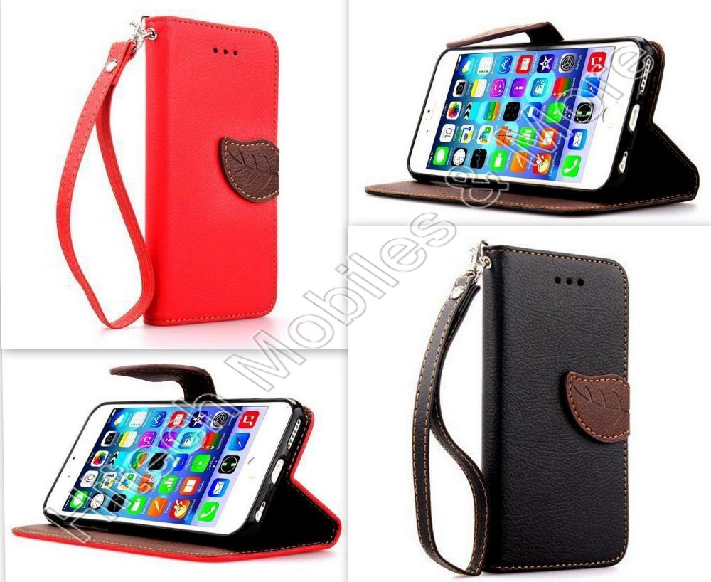 PU Leather Wallet Case for iPhone 6 Plus 6S Plus