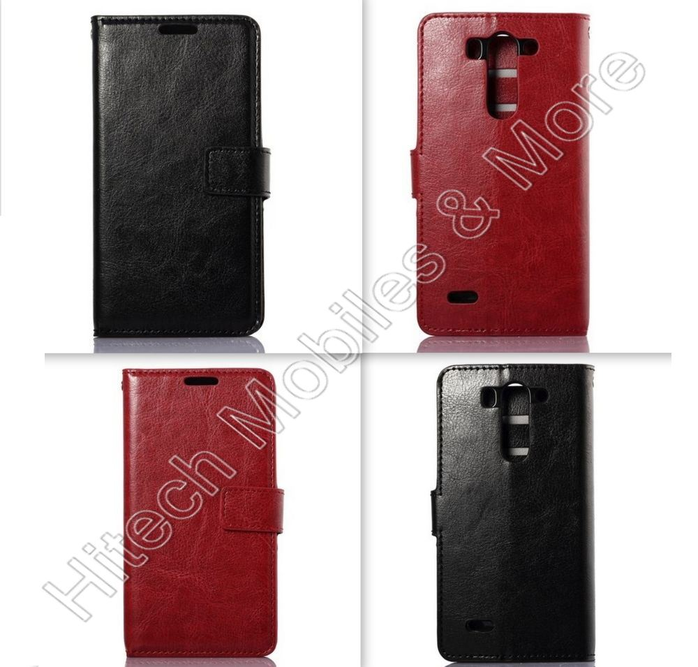PU Leather Wallet Casel for LG G3 S D722