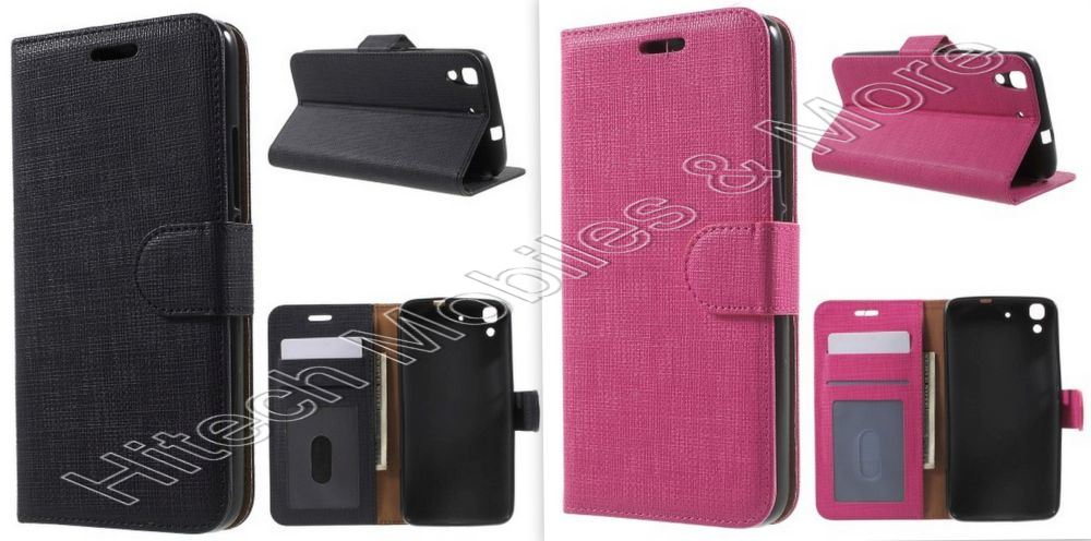 PU Leather Wallet for Huawei Ascend Y6