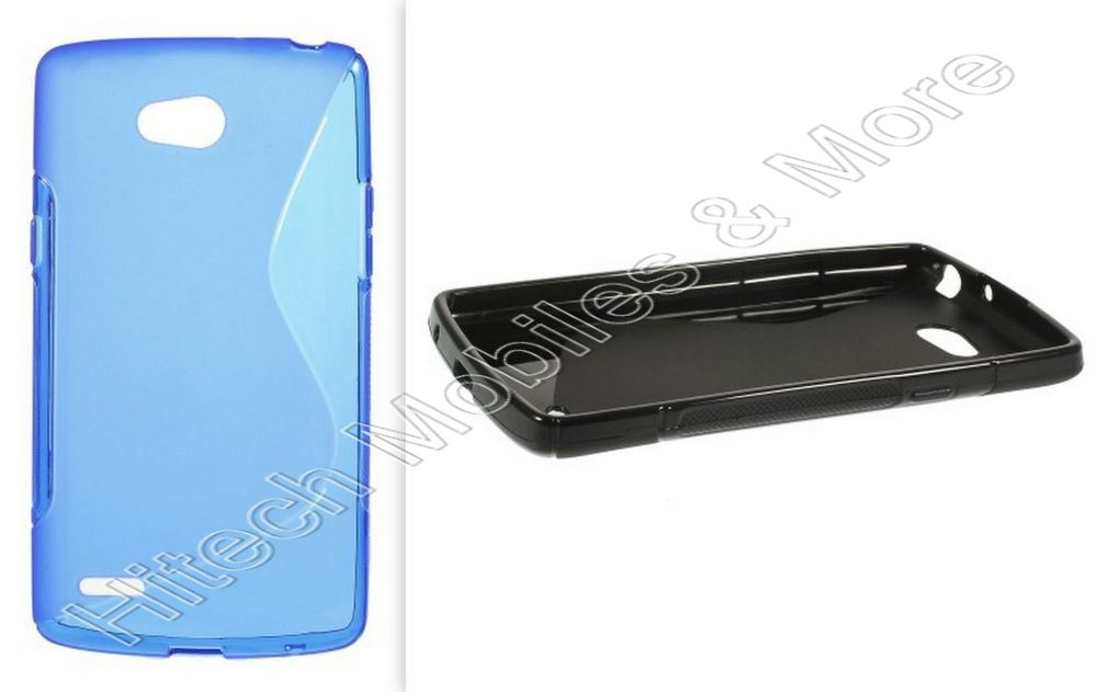 S-Curve TPU Case for LG L80 Dual D370