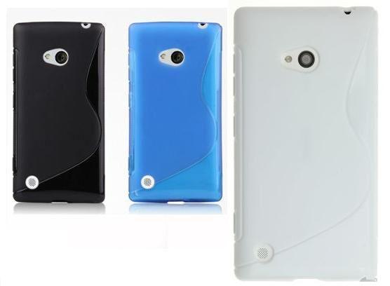 S-Shape TPU Case For Nokia Lumia 720